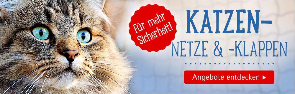Jetzt Katzenklappen & -netze entdecken!