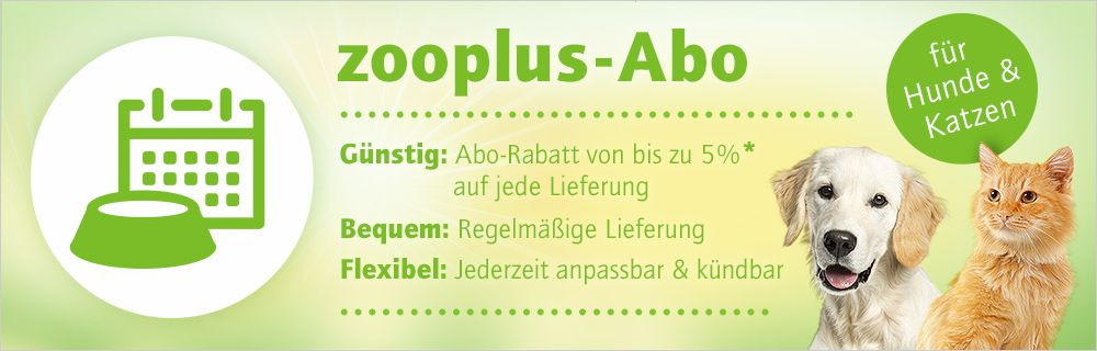 zooplus Futter-Abo