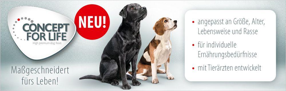 Concept for Life Hundefutter günstig bei zooplus
