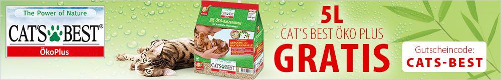 5 L Cat's Best Öko Plus geschenkt