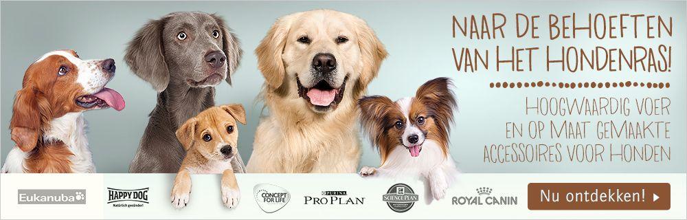 Producten naar hondenras