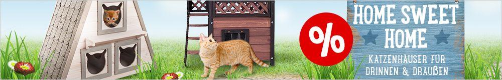 Jetzt Katzenhäuser günstig kaufen!