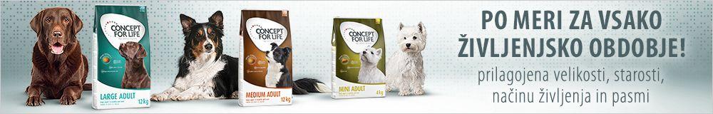Concept for Life suha hrana za pse
