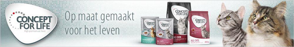 Concept for Life droogvoer voor katten