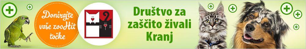 Zoohit točke za Društvo za zaščito živali Kranj