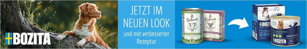 Bozita Nassfutter - jetzt im neuen Look und mit verbesserter Rezeptur!
