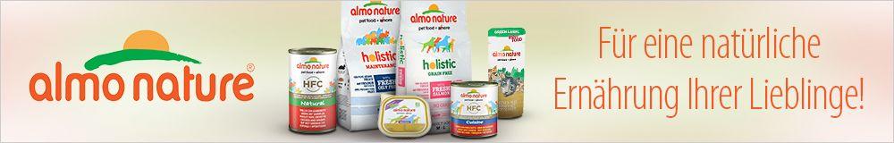 Almo Nature -Natürliche Zutaten für Ihren Liebling!