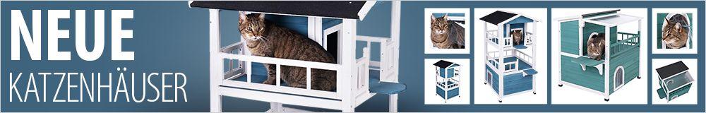 Katzenhäuser für drinnen und draußen entdecken!