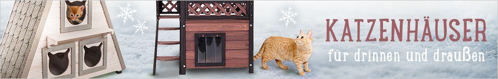 Schutz vor Sonne und Regen - Jetzt Katzenhäuser entdecken!