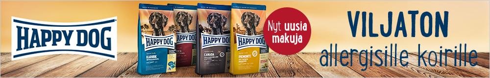 Happy Dog viljaton allergisille koirille