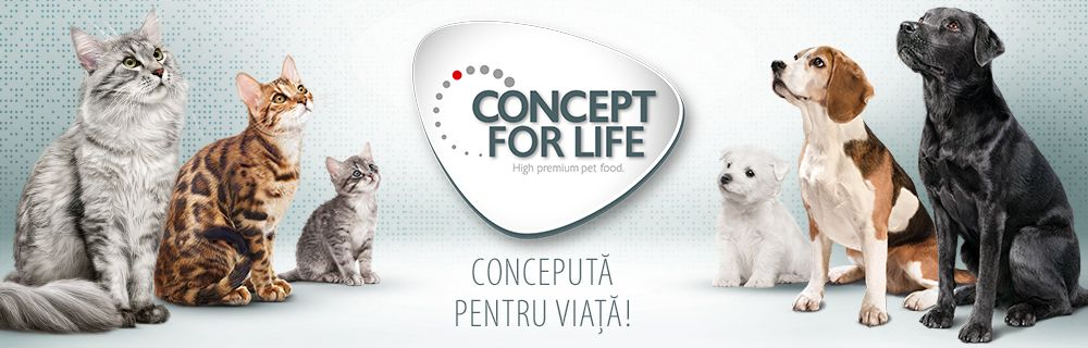 Concept for Life - marca exclusivă zooplus
