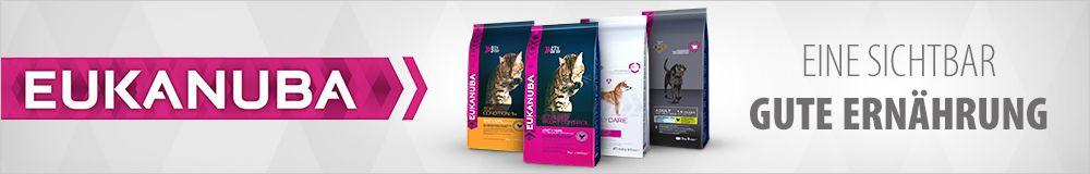 Eukanuba für Hunde und Katzen - sichtbar gutes Futter!