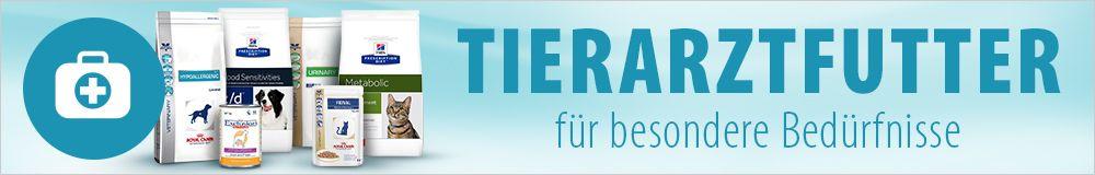 Tierarztfutter für Hund und Katze günstig bei zooplus