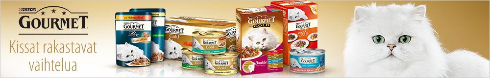 Gourmet - Kissat rakastavat vaihtelua
