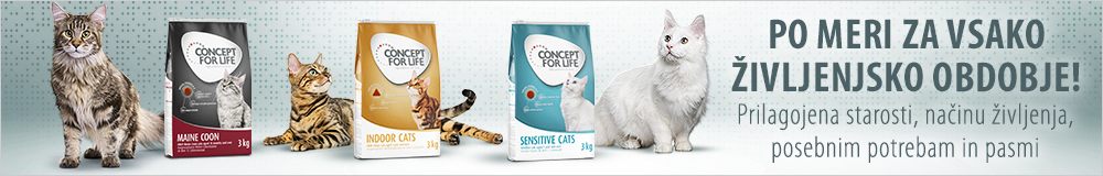 Concept for life suha hrana za mačke