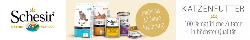 Schesir - natürliches Futter mit höchster Qualität!