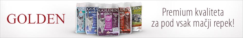 golden gray pesek za mačke