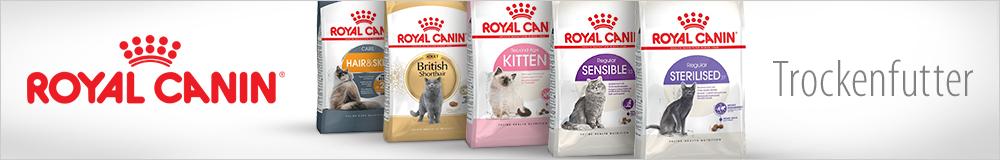 Royal Canin Trockenfutter für Katzen!