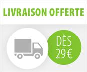 Livraison offerte dès 29 euros