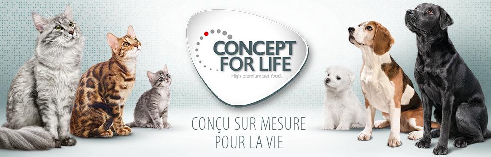 Croquettes Concept for Life pour chien et chat