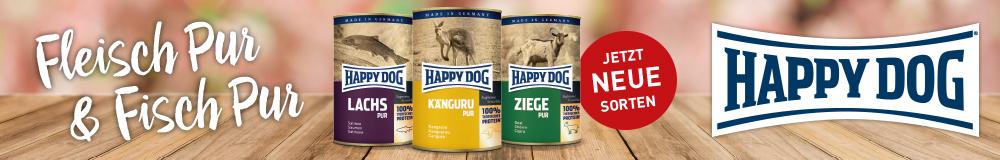 Entdecken Sie die neuen Sorten von HAPPY DOG!