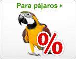 Ofertas especiales Pájaros