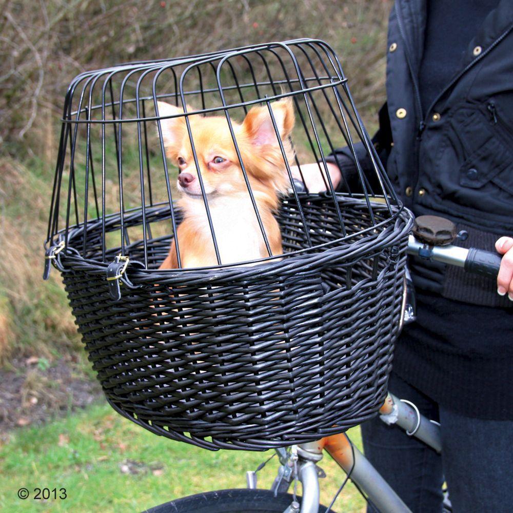 Велосипедная корзина для собак купить