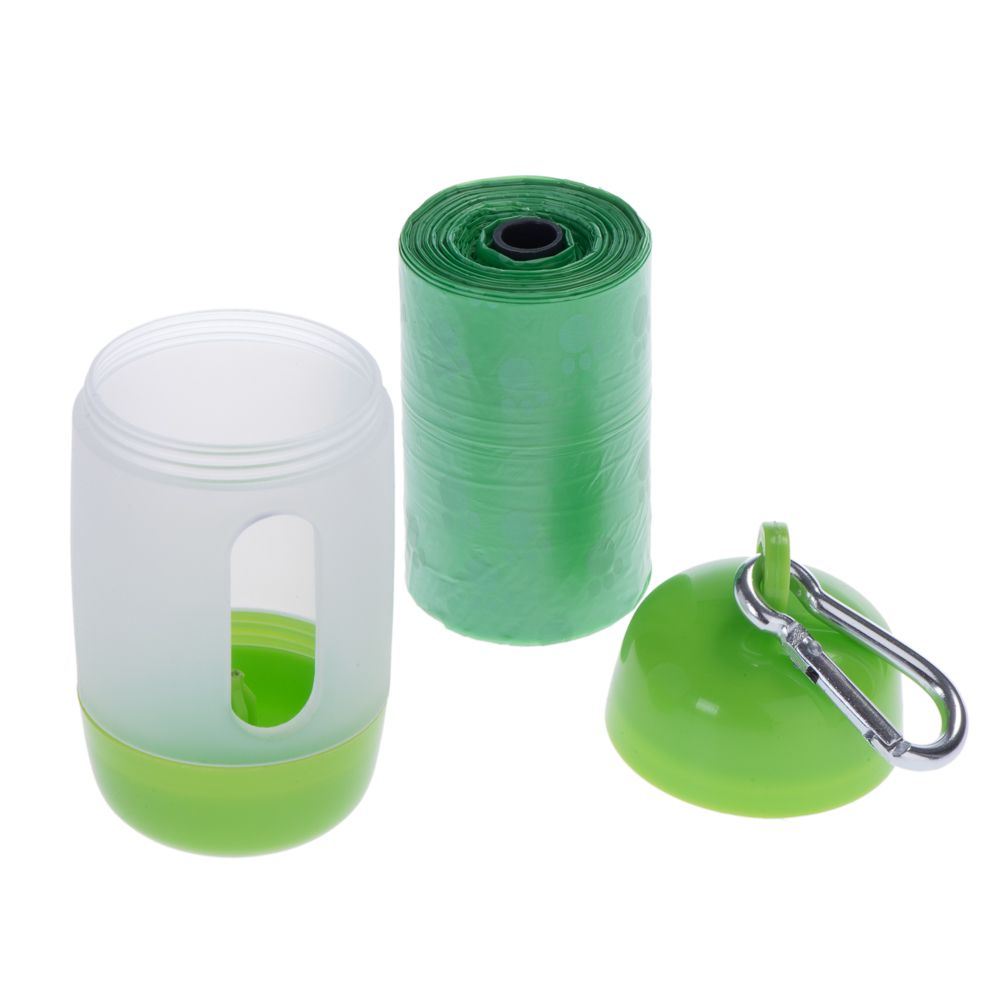 Poop Bag Dispenser with Bags - Replacement bags (20 rolls of 20 bags)