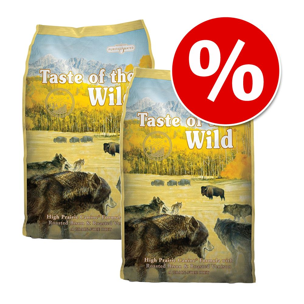Taste of the Wild Pachet economic: 2 x 13 kg - Pacific Stream Canine