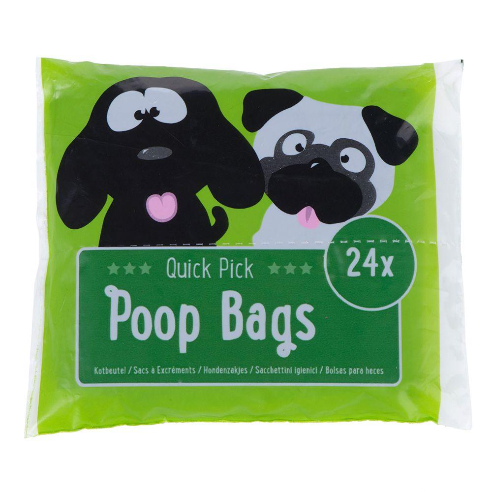 Quick Pick Poop Bags - 24 bags