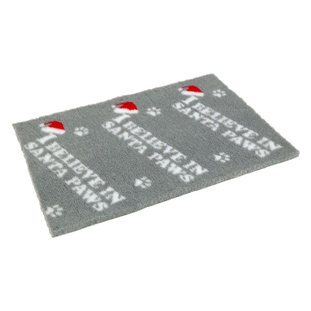 Vetbed® Non-Slip I Believe in Santa Paws - 100 x 75 cm (L x W)