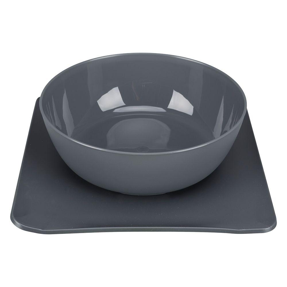 Yummynator: The Non-Slip Feeding Bowl System - 0.85 litre (blue)