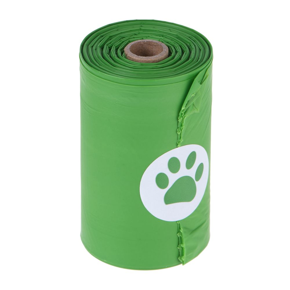 Biodegradable Dog Poop Bags - 4 rolls (15 bags per roll)