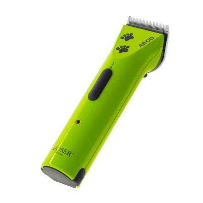 Akumulátorový stříhací strojek Moser Arco - limitovaná edice - zelený