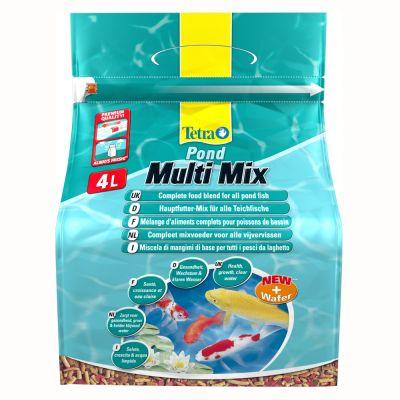 Aliment pour poissons d 39 tang tetrapond multi mix prix for Acheter poisson vivant pour etang