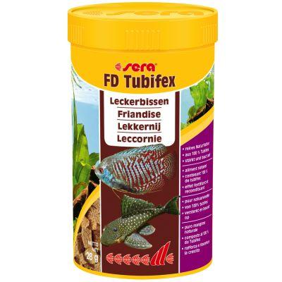 Aliment pour poissons sera fd tubifex for Manger pour poisson aquarium