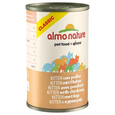 Almo Nature Classic Kitten 6 x 140 g