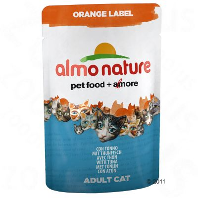 Almo Nature Orange Label Cat Food On Sale Now At Zooplus
