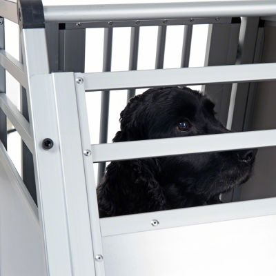 Aluline Double Dog Crate Free P P On Orders 163 29 At Zooplus