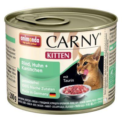 Animonda Carny Kitten 6 / 12  x 200 g
