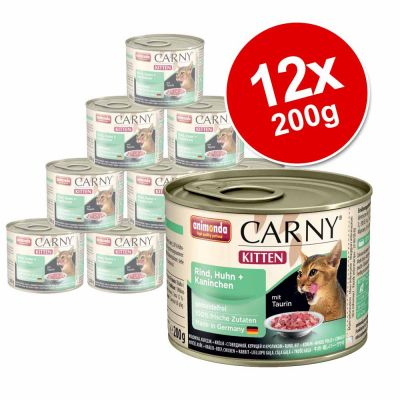 animonda carny kitten 12 x 200 g. Black Bedroom Furniture Sets. Home Design Ideas