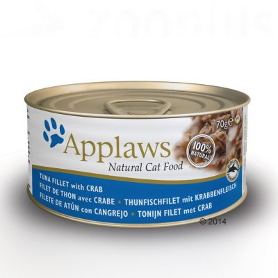 Applaws cat food 70g tuna fish free p p 29 for Is tuna fish good for cats