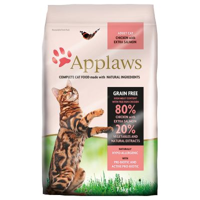 Orijen Dog Food Reviews >> Applaws Chicken and Salmon Dry Cat Food | Great deals at zooplus