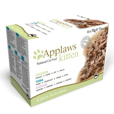 Applaws Multipack Kitten konzervy 6 x 70 g