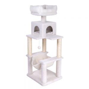 arbre chat entre 1 40 m et 1 60 m de haut zooplus. Black Bedroom Furniture Sets. Home Design Ideas