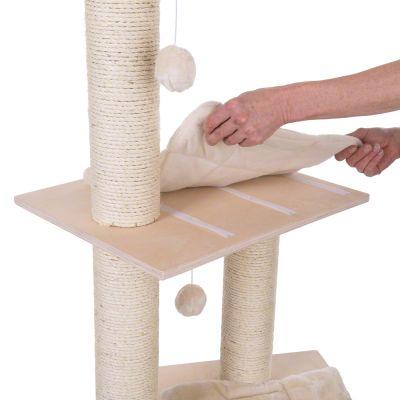 arbre chat entre 1 40 m et 1 60 m de haut prix avantageux chez zooplus arbre chat. Black Bedroom Furniture Sets. Home Design Ideas