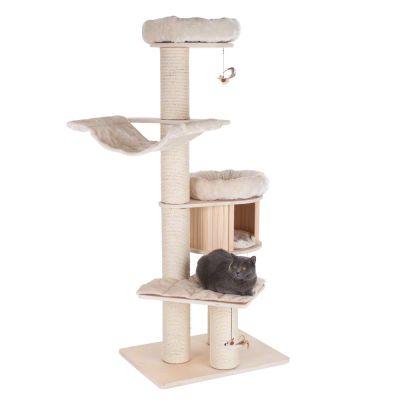 arbre chat de plus de 1 80 m de haut prix avantageux chez zooplus arbre chat natural. Black Bedroom Furniture Sets. Home Design Ideas