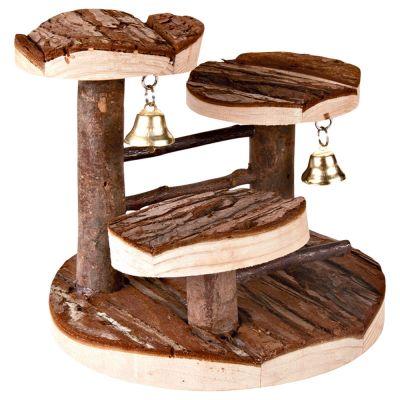 arbre grimper en bois naturel pour hamster zooplus. Black Bedroom Furniture Sets. Home Design Ideas