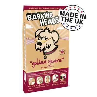 Barking Heads Golden Years Dog Food