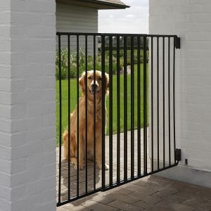 dog barrier outdoor barri re pour chien zooplus. Black Bedroom Furniture Sets. Home Design Ideas